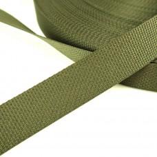 Стропа текстильная ИТГФ, 25мм, темный Хаки, (цвет 170)