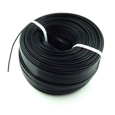 Пластиковый кедер /кант в черной расцветке 10мм