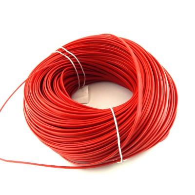 Пластиковый кедер /кант в красной расцветке 10мм