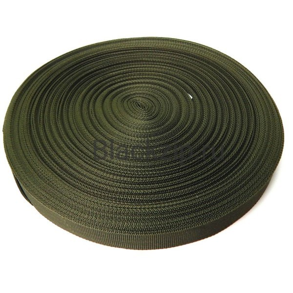 Окантовочная лента, АМА, 25мм, олива, рулон (50м), оптом